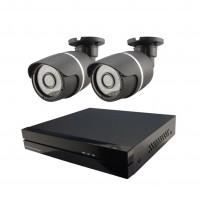 2x IP kamera 720p + NVR 4CH