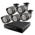 5x IP kamera 720p + NVR 8CH