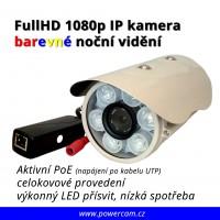 IP kamera HD 1080p barevné noční vidění