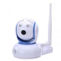 PTZ mini IP kamera Wi-fi HD 720p noční vidění +PIR + slot microSD, mikrofon
